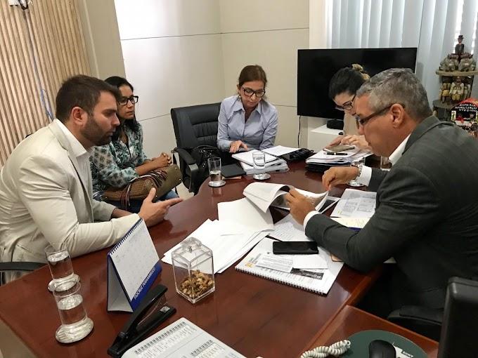 Gustavo Gouveia busca apoio da AD Diper para investimentos na Mata Norte