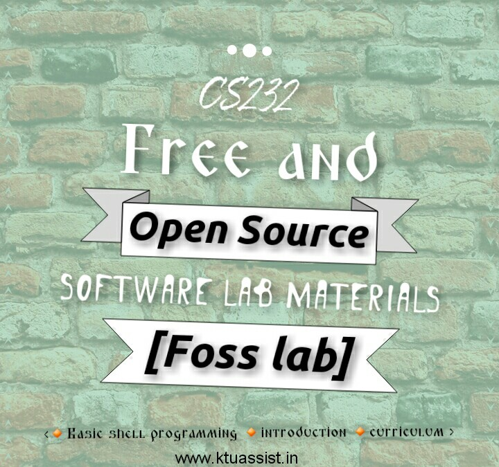 free and open source software lab ktu