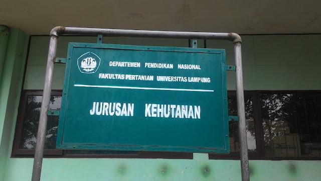 Profil Jurusan Kehutanan Univesitas Lampung