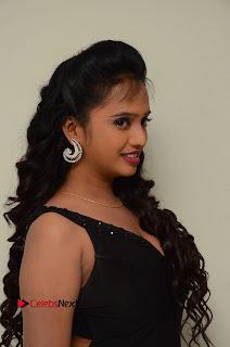 Actress Nakshatra Pictures in Black Long Dress at Miss South India 2016 Press Meet  0003.jpg