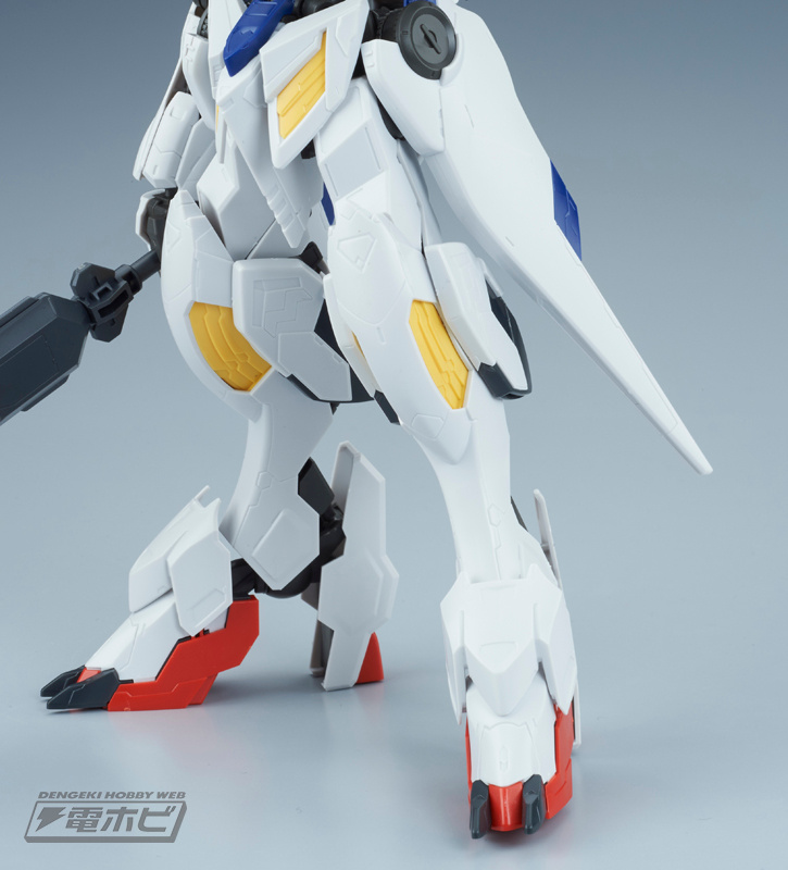 1/100 Full Mechanics Gundam Barbatos Lupus Sample Images by Dengeki Hobby