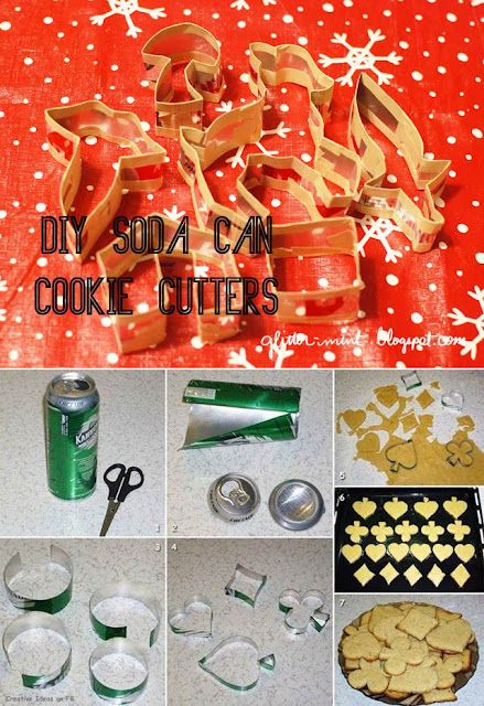 Soda Can Cookie Cutters