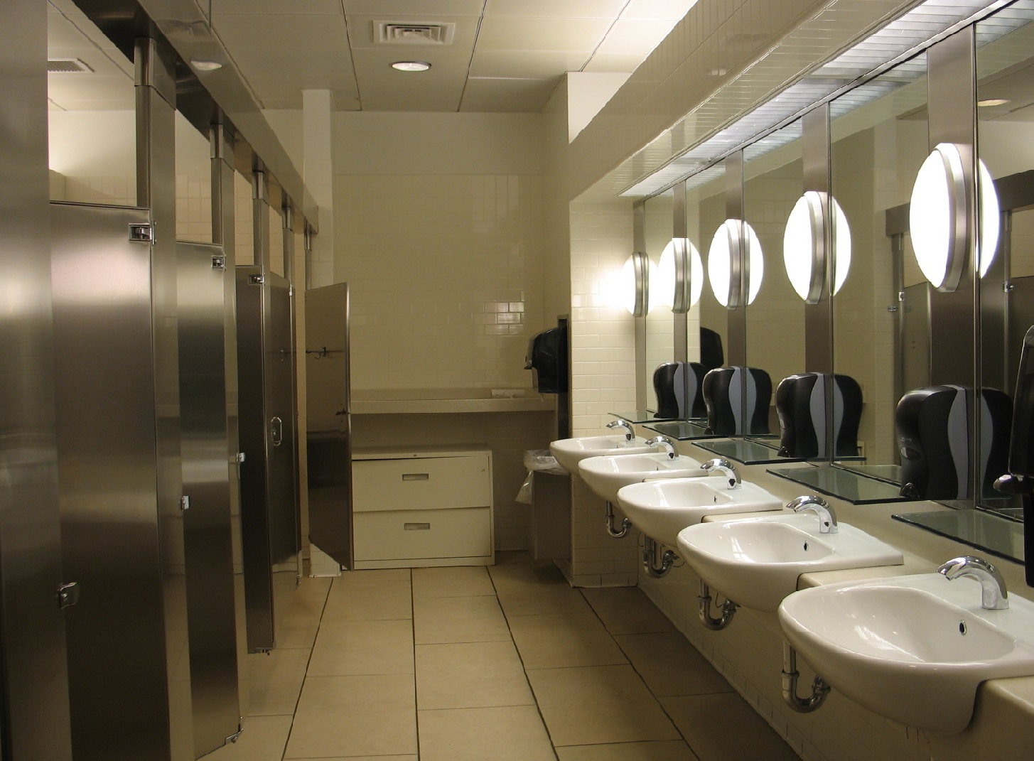 Using the restroom in peace. It s not about me  Using the restroom in peace