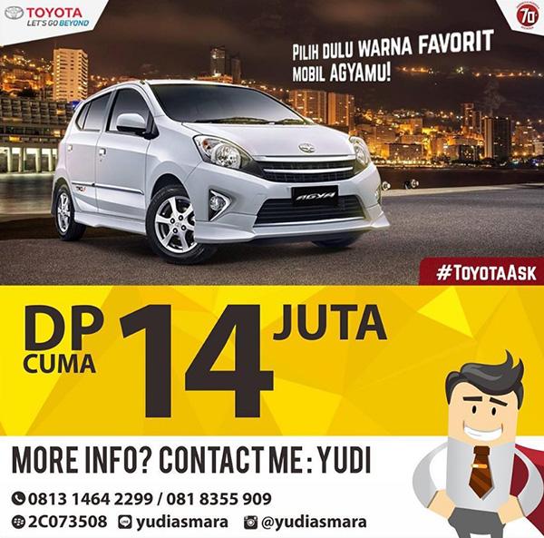 Toyota Denpasar Bali DP 14 Juta