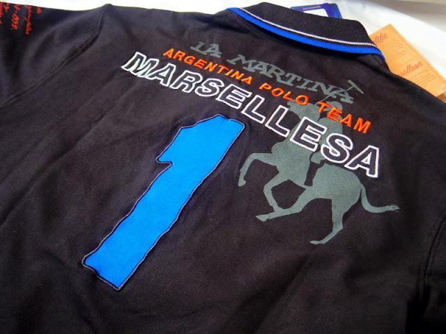 ラ マルティナのポロシャツ
