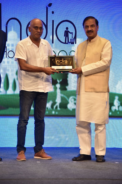 Forca Goa Foundation and Drishti Marine recognised for their efforts in the Swachh Bharat initiative