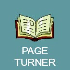 page turner book icon