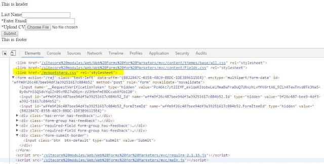 Custom CSS for particular WFFM form