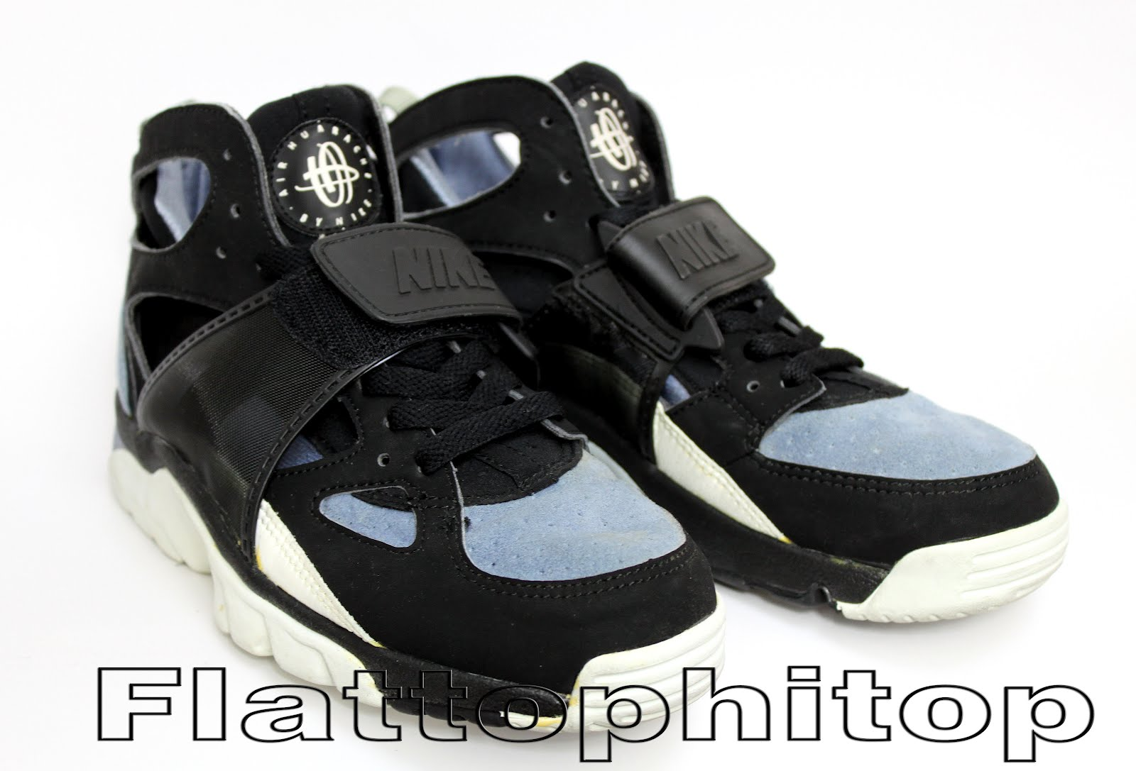 reputable site 53f98 d6bfd nike huarache with strap