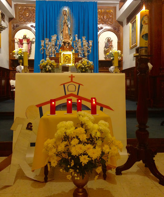 Resultado de imagen de cirio pascuial parroquia guadalupe los realejos