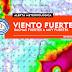ALERTA | Fin de semana ventoso la costa del S y E. El Lunes podría haber rachas superiores a 80 km/h