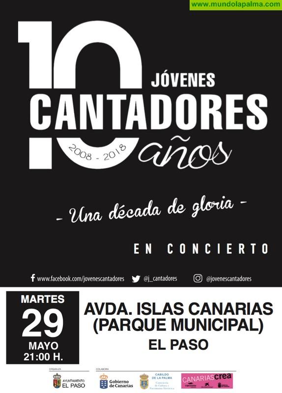 """""""Jóvenes Cantadores"""" en El Paso, para celebrar el día de Canarias"""