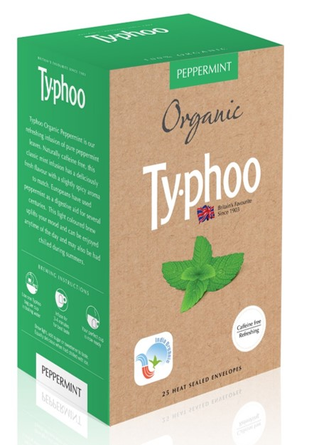 Stay Stress free and Energized with Typhoo's Organic Infusions range