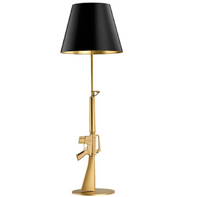 ghosts of the great highway epic proportions philippe starck gun lamps. Black Bedroom Furniture Sets. Home Design Ideas