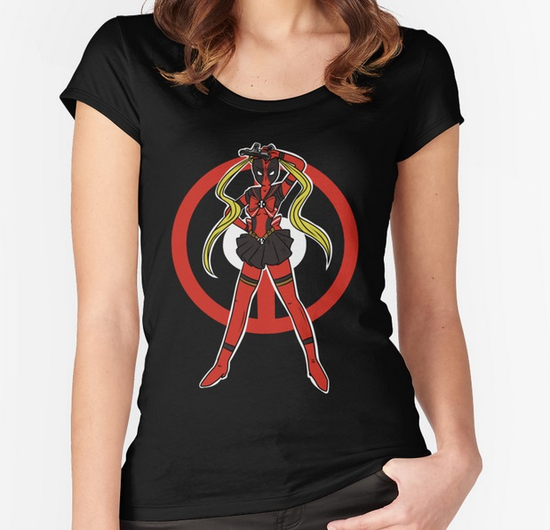 Sailor Deadpool Unisex T-Shirt