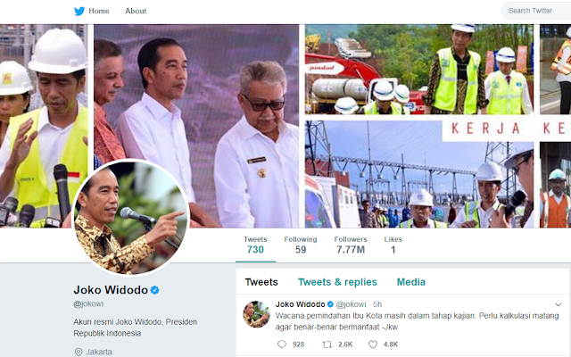 Terkini Akhirnya, Joko Widodo Angkat Bicara Soal Perihal Pemindahan Ibu Kota