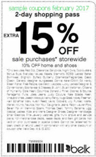 Belk coupons february