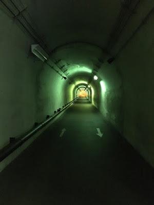 清津峡トンネル内通路