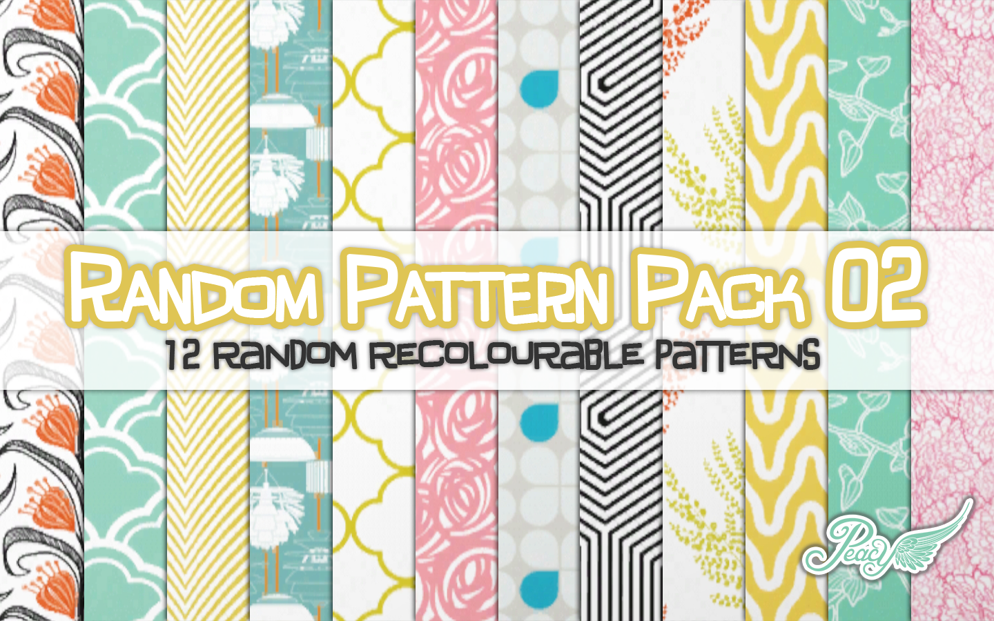 Morrocan Bedroom My Sims 3 Blog Random Pattern Pack 02 By Peacemaker Ic