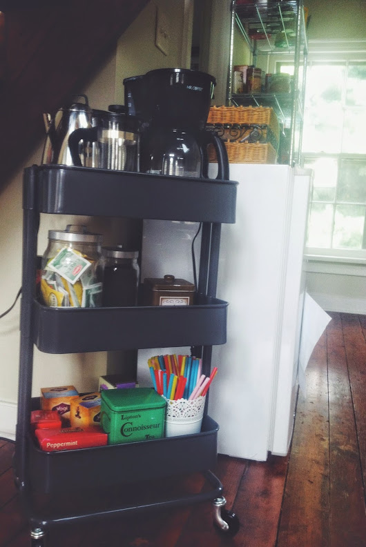How To: Coffee Cart