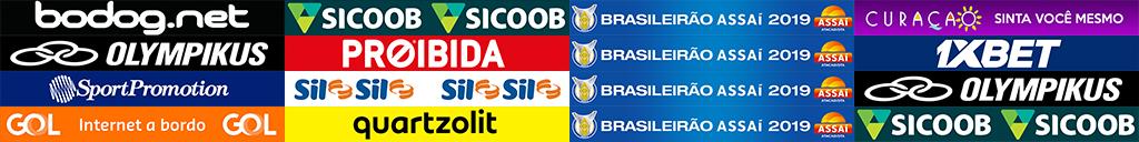 Campeonato Brasileiro Série A 2019 - Placas de publicidade