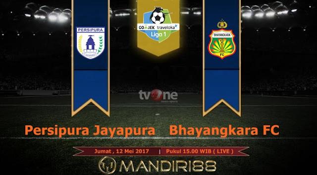 Prediksi Bola : Persipura Jayapura Vs Bhayangkara FC , Jumat 12 Mei 2017 Pukul 15.00 WIB @ TVONE