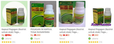 review kapsul pegagan