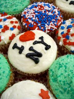 I heart New York City cupcakes