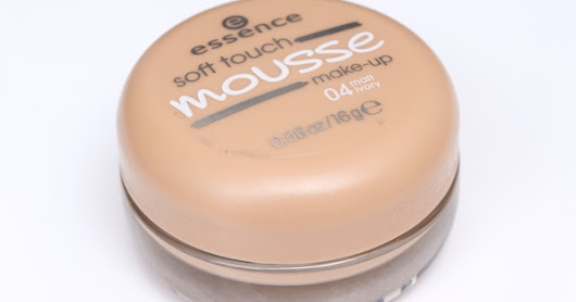 Essence Soft Touch Mousse Makeup Review