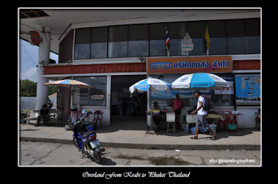 road trip from krabi to phuket, overland from krabi to phuket, bus jalan darat dari krabi ke phuket