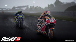 Moto GP 18 PS3 Wallpaper