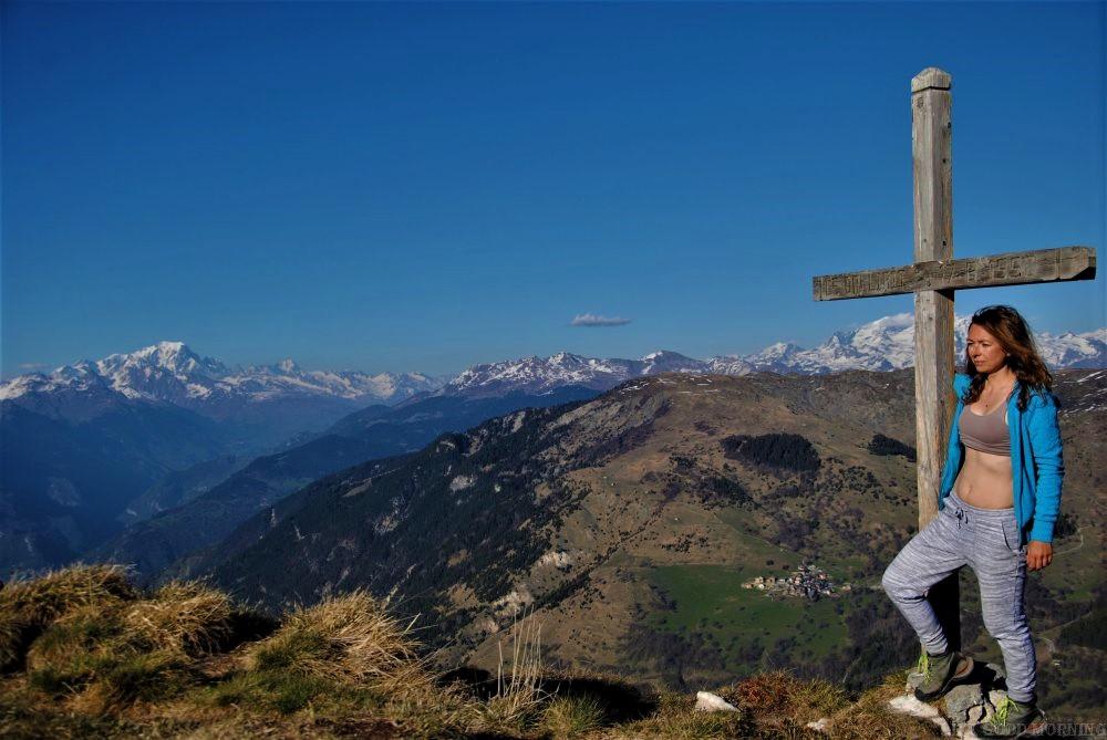 Francuskie 3 Doliny - moje miejsca na piesze wędrówki.