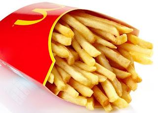 Resep Kentang Goreng Ala KCF dan McDonald's