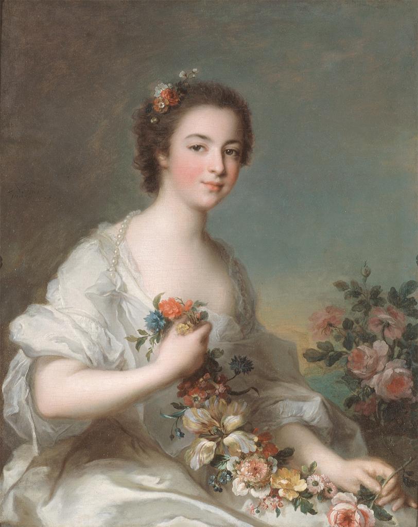 Le grandi dame del periodo Barocco ricorrevano spesso all aiuto di un  pittore per la scelta dei colori utilizzati nel make up b827d52ab609