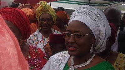 Aisha Buhari in Imo State, urges Igbo women to rejects Biafra