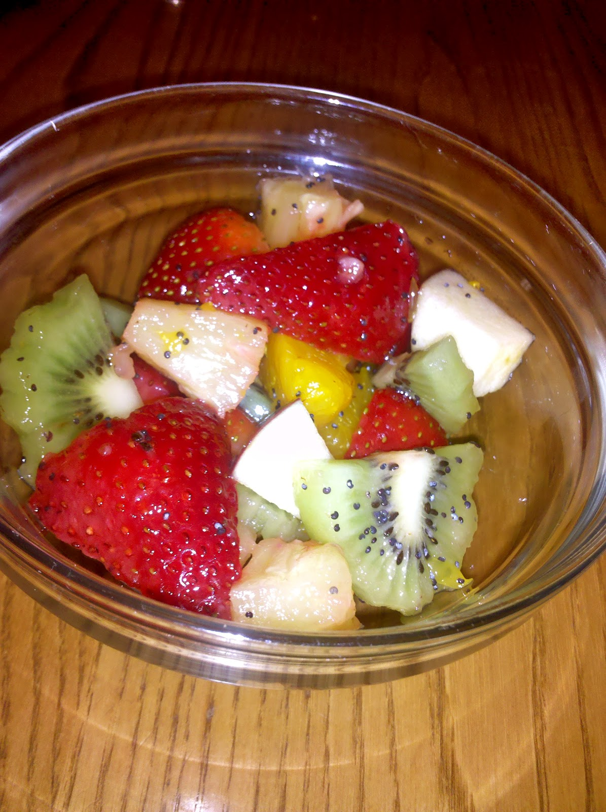 Honey Poppyseed Fruit Salad