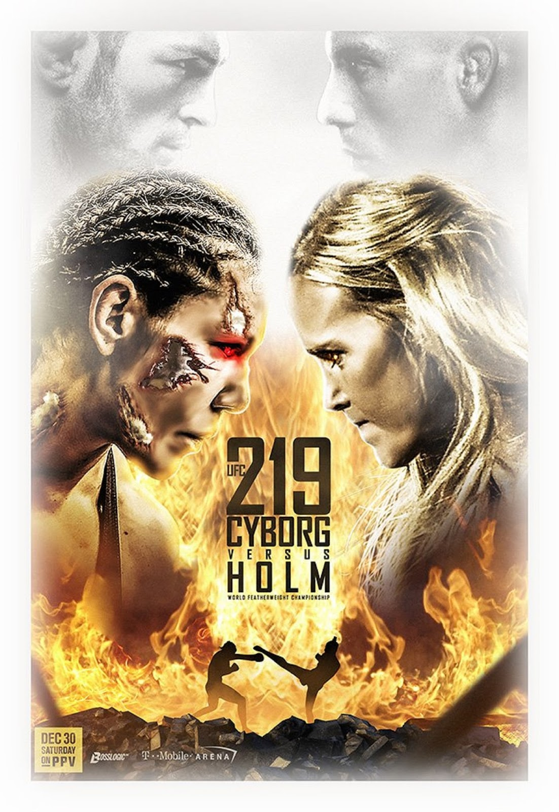 CRIS CYBORG VS. HOLLY HOLM