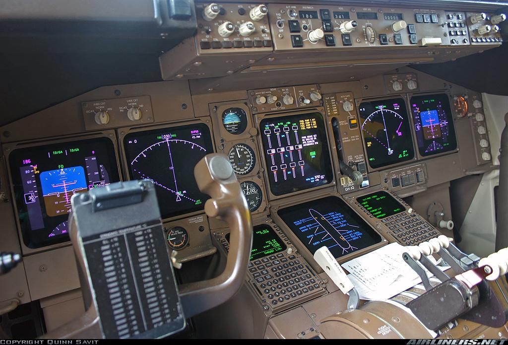 Boeing 737 800 cockpit Poster pdf Checklist