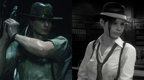 الكشف عن المزيد من الألبسة الإضافية لشخصية Claire و Leon خلال لعبة Resident Evil 2 ، لنشاهد من هنا ..