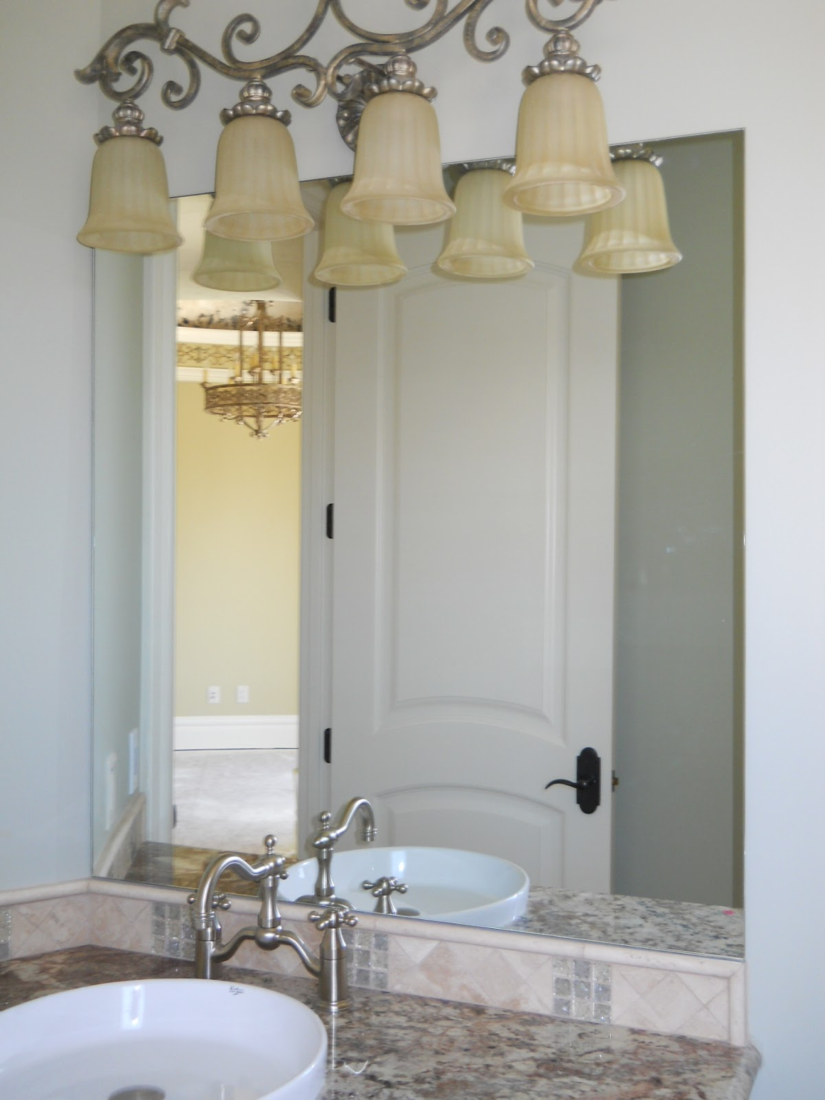 Reflected design - Mirror frame kits for bathroom mirrors ...
