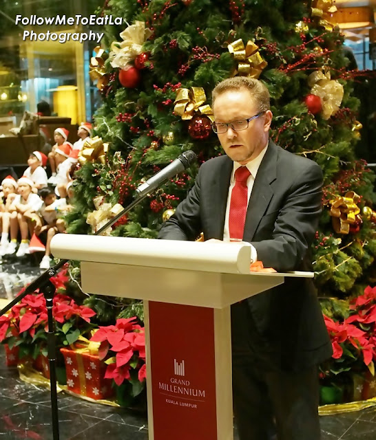 Reading Of A Special Letter From Santa Claus By His Excellency Mr Petri Juhani Puhakka