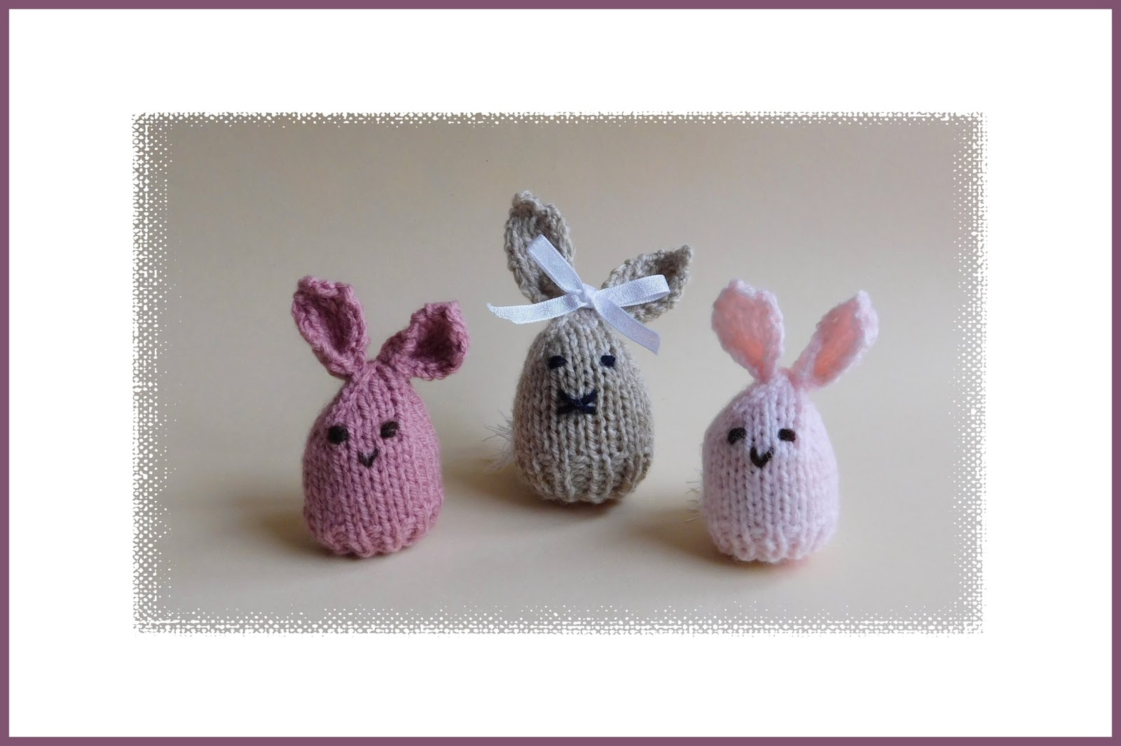 Mariannas lazy daisy days easter bunny egg cosy these will be cute little easter gifts some with a chocolate egg inside others with a large hard boiled egg i have very happy memories of decorating negle Choice Image