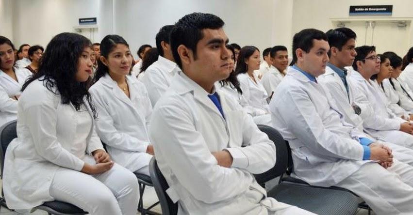 SERUMS: Universidades deben registrar grados y títulos de futuros médicos - www.sunedu.gob.pe