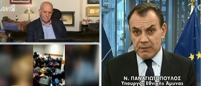 Παναγιωτόπουλος στον ΑΝΤ1: Η Τουρκία έχει σχέδιο για «χτύπηματα» στις θρησκευτικές εορτές (BINTEO)