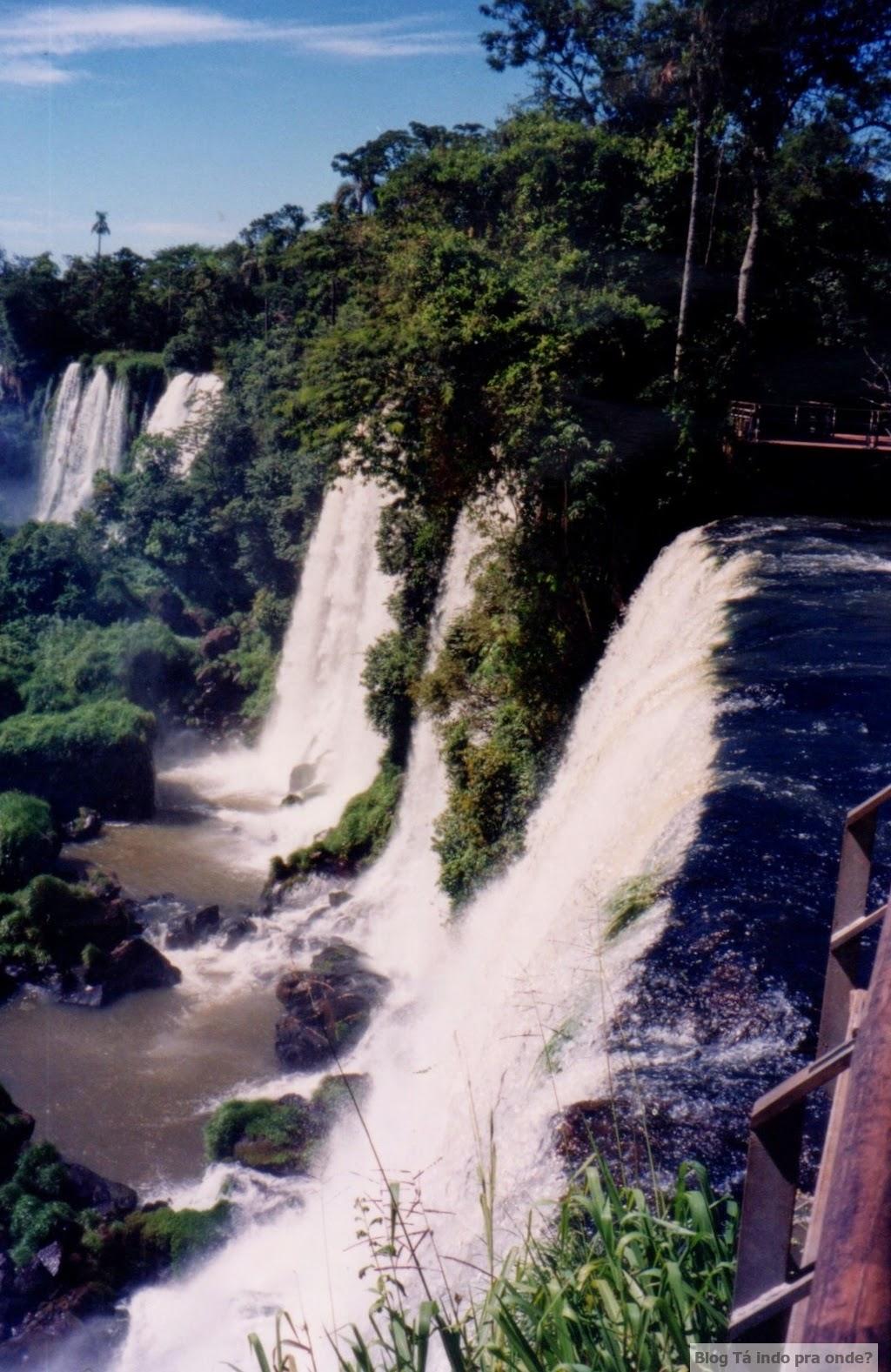Lado argentino das Cataratas do Iguaçu