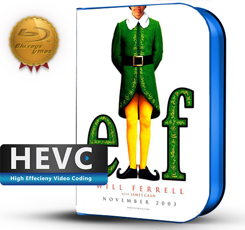 Elf (2003) 1080P HEVC-8Bits BDRip Latino/Ingles(Subt.Esp)(Familiar, Comedia)