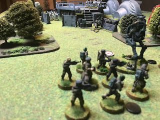 Infantry and the Rebel AT-RT take down Vader!