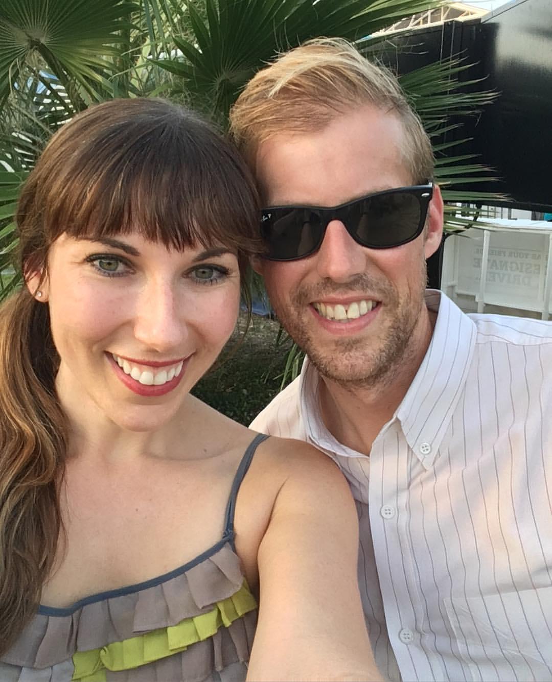 Andrew McMahon z piękny, Żona Kelly Hansch