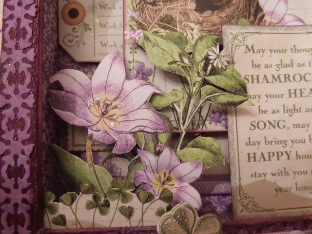 Time to Flourish Altered Frame 2 Clare Charvill Jones Crafts DT Project Dec 14 Graphic 45