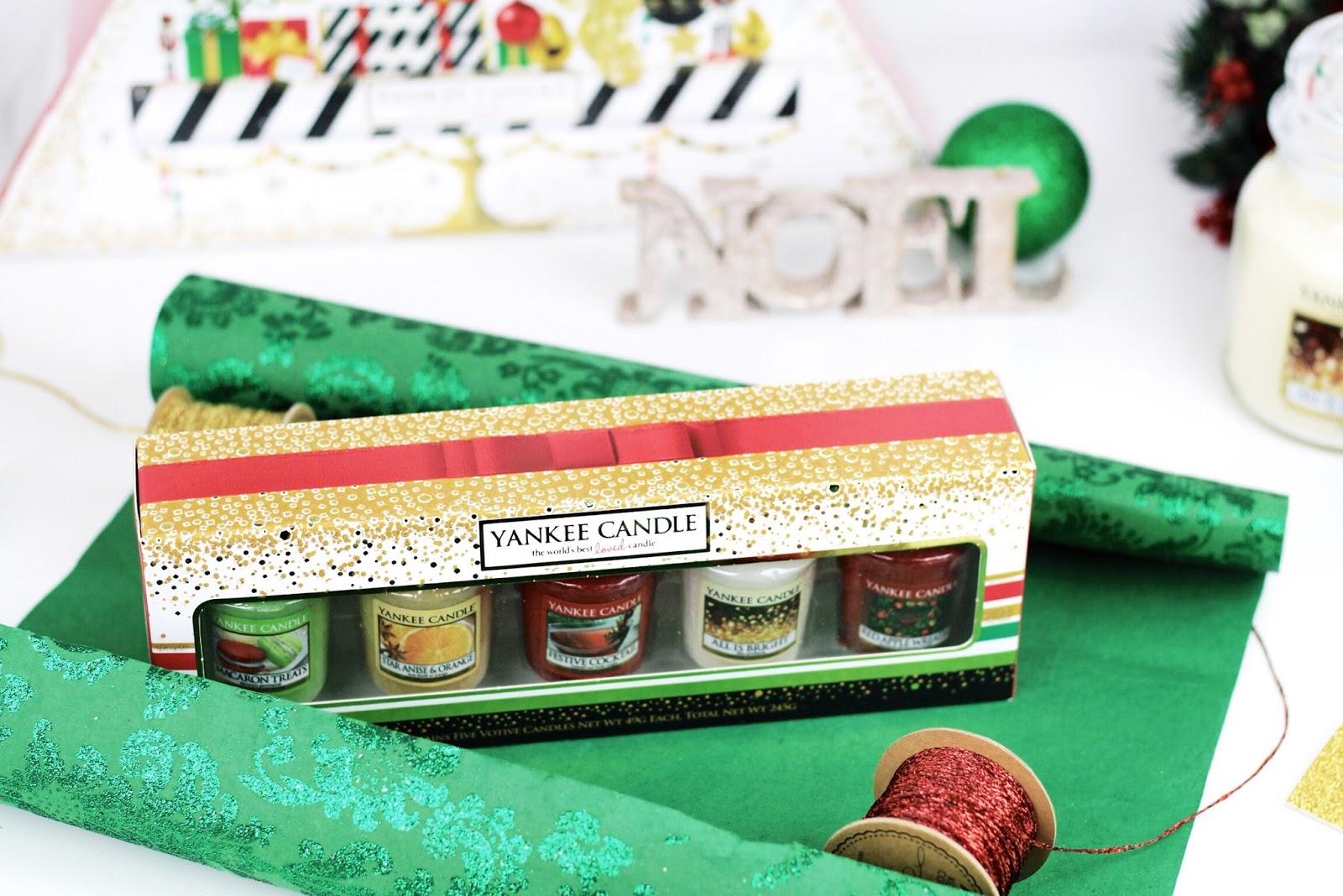 Yankee Candle set of 5 festive votives
